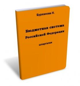 Бурханова Бюджетная система Российской Федерации